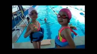 Ура бассейн. Уроки плавания.