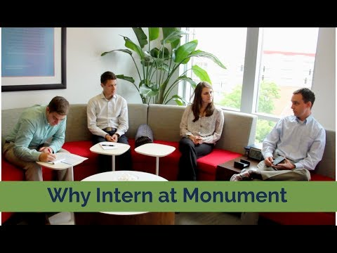 Why Intern at Monument Wealth Management