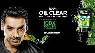 Video #PowerOfDetox with Garnier Men Oil Clear Matcha D-Tox Facewash download MP3, 3GP, MP4, WEBM, AVI, FLV November 2017