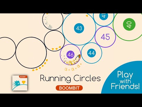 RUNNING CIRCLES by BoomBit Games | iOS App (iPhone, iPad) | Android Video Gameplay‬