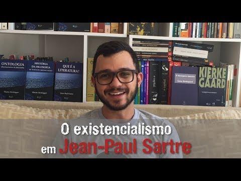 Aula 24 - O existencialismo em Jean-Paul Sartre