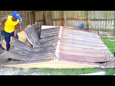 DIY shed Demolition