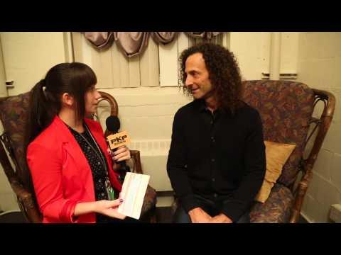 KENNY G Interview w/ Pavlina 2013 Tour Daytona Beach, FL