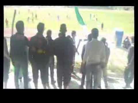 Ultras EVIL à youssoufia ( OCY 0-1 USAZ ) 2013-2014