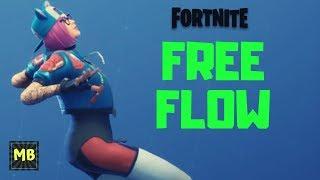 Fortnite - BATTLE PASS SEASON 7 REWARD EPIC DANCE EMOTE FREE FLOW