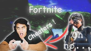 FORTNITE CHEATERS ! || Fortnite Gameplay || Konas2002