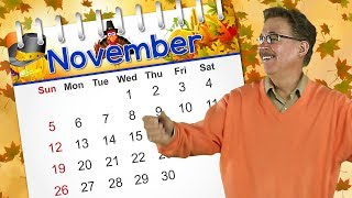 November | Calendar Song for Kids | Jack Hartmann