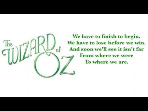 Already Home Karaoke/Instrumental   The Wizard of Oz