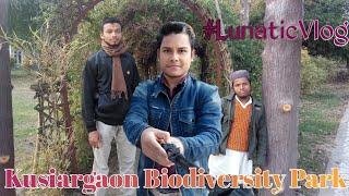 Kusiargaon Biodiversity Park Araria (kusiargaon Zoo) #LunaticVlog