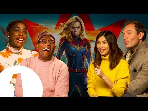 The Captain Marvel cast on keeping the MCU's secrets: 'I didn't say anything to anyone!'