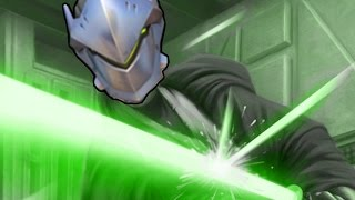 ULTIMATE GENJI DEFLECTS - Overwatch Montage