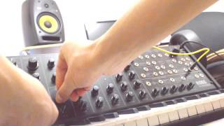 Studio Session 1. Korg MS 20 mini Dubstep Growl.