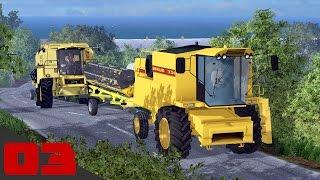 The English Farm E3 | Due New Holland in campo