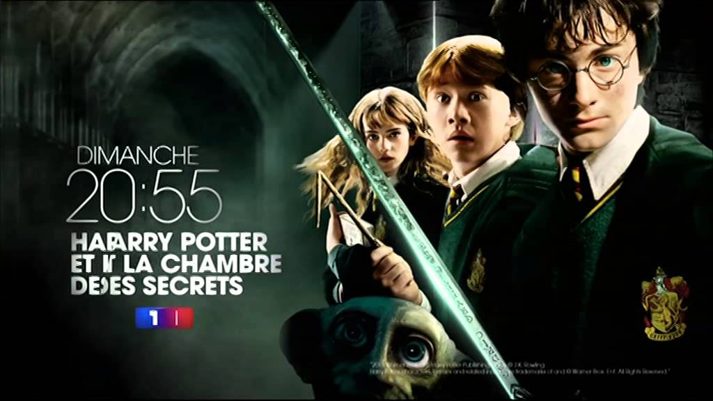 Harry potter et la chambre des secrets dimanche 20h55 - Harry potter chambre secrets streaming ...