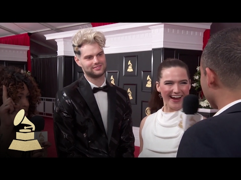 Sofi Tukker | Red Carpet | 59th GRAMMYs