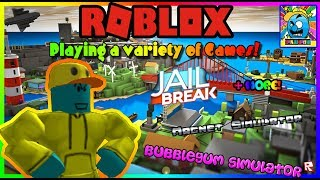Roblox #69 (2) | PLAYING WITH VIEWERS | LIVE | (sjk livestreams #278)