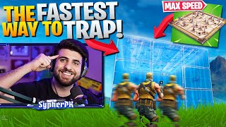 The *FASTEST* Way To Trap EVERYONE Should Be Using! (Fortnite Battle Royale)