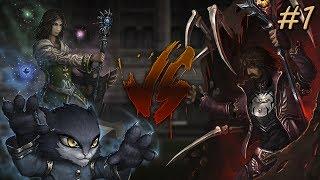 Наточенная битва - Warlock VS Necromancer - Пилотный Выпуск