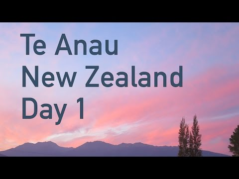Exploring Queenstown & Te Anau, New Zealand DAY 1