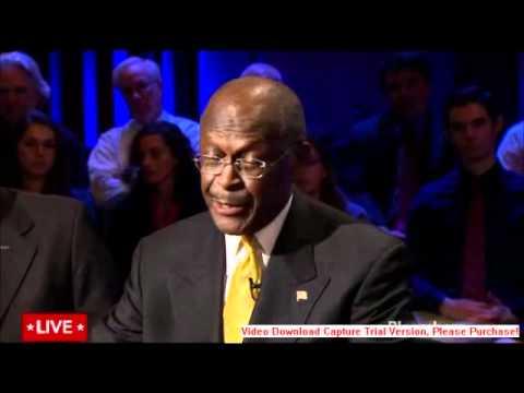 Herman Cain Tells Ron Paul that the Federal Reserve isn't a Top Priority at GOP Debate
