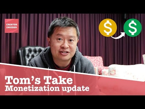 Monetization Update