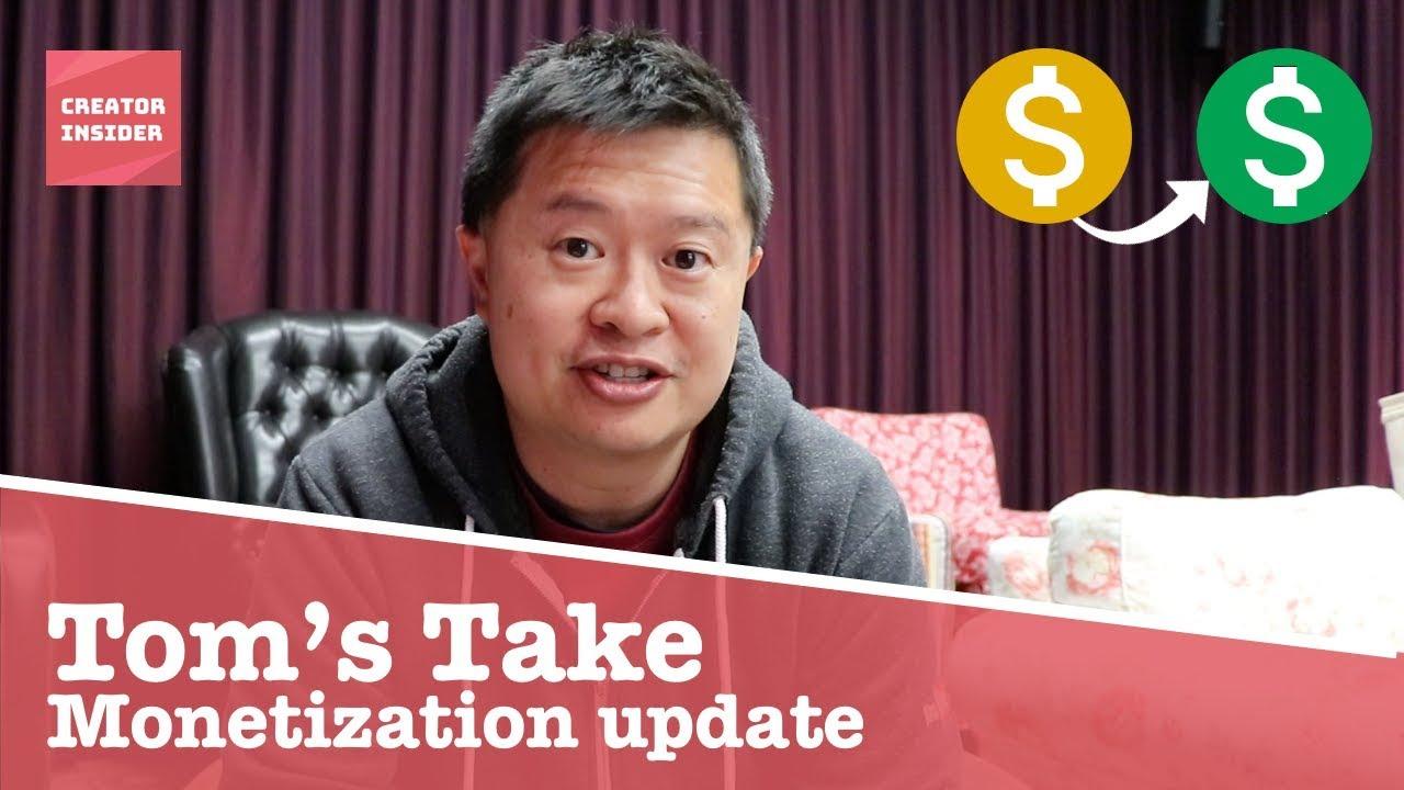 Monetization Update Youtube
