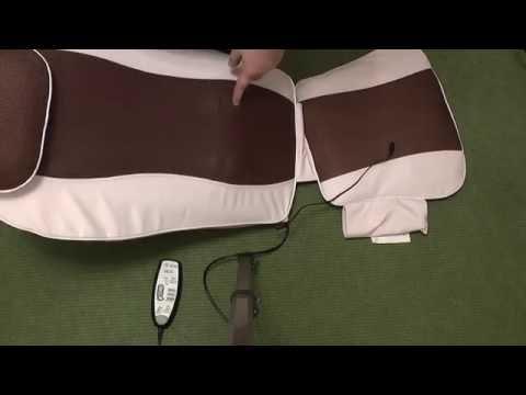 Vivamax Shiatsu Deluxe Massage Seat unboxing video (Magyar) - Masszázsülés kicsomagolás