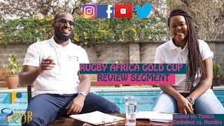 Official Podcast for the 2018 Rugby Africa Gold Cup; Review Show