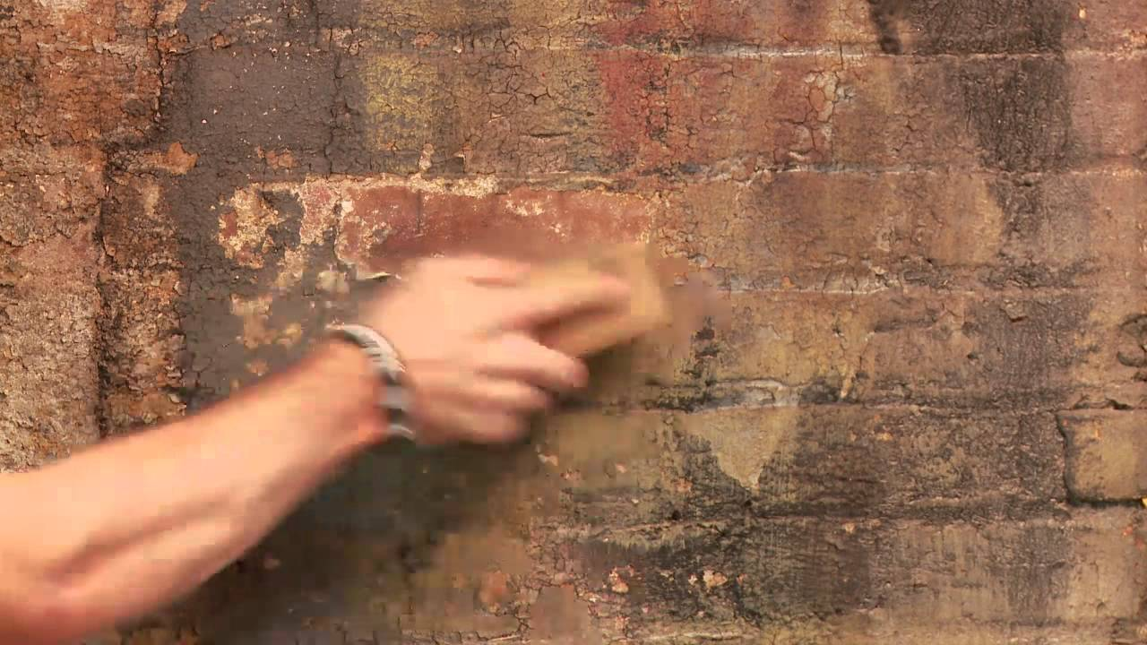 how to clean old brick u0026 concrete for painting indoors home