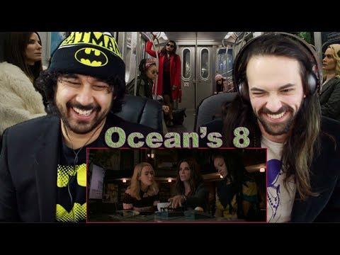 OCEAN'S 8 - TRAILER #2 REACTION & REVIEW!!!