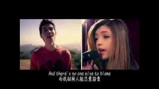 Sam Tsui:Heart Attack - Demi Lovato (with Chrissy Costanza of ATC)(中文字幕)