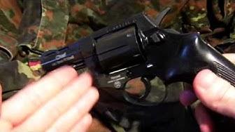 Schreckschussrevolver Record Chief 2,5'' 9mm review (ger.)[HD]