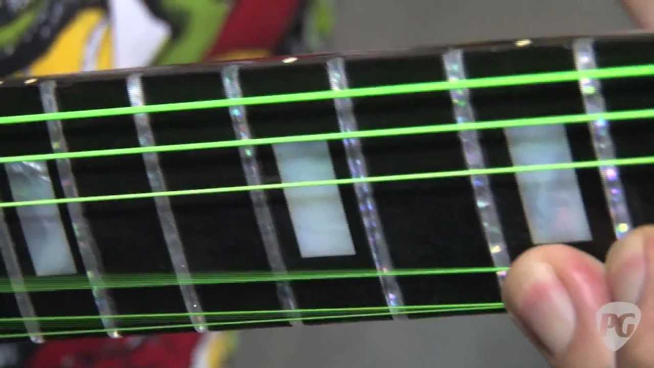 how to make guitar frets more sensitive