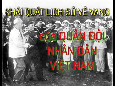 KHÁI QUÁT LỊCH SỬ VẺ VANG CỦA QUÂN ĐỘI NHÂN DÂN VIỆT NAM - Kể chuyện lịch sử Việt Nam 44