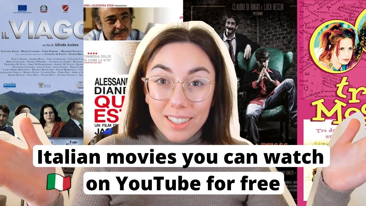 Download 4 Italian Movies You Can Watch on YouTube for Free (ita audio + subs)