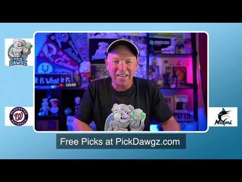 Miami Marlins vs Washington Nationals Game 2 Free Pick 8/22/20 MLB Pick and Prediction MLB Tips