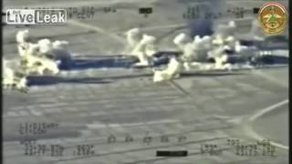 US Military Tribute. isis getting blown up by US Military.