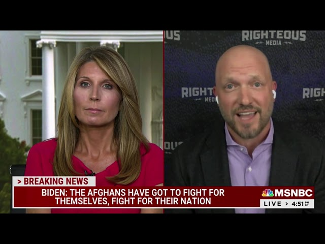 MSNBC - DEADLINE WHITE HOUSE - AUGUST 11:AFGHANISTAN'S IMMINENT COLLAPSE