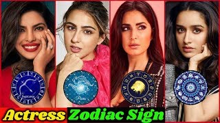 Zodiac Signs of Bollywood Actresses