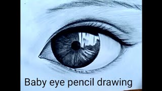 Baby Eye Pencil Drawing | Online Drawing Class