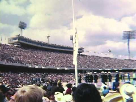 1968 Summer Olympics Opening Ceremony in Mexico - XIX Olympiad
