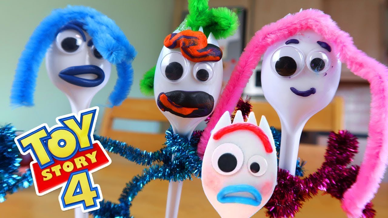 How To Make Forky From Toy Story 4 In Real Life