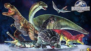 MAX Level Karprosuchus Battle - Jurassic World The Game