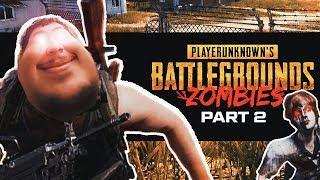 Greekgodx Plays PUBG Zombies With The Boys #2