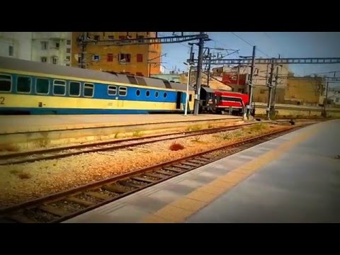 SNCFT GT 555 (EXPRESS) Leaving Tunis Station To Gabes