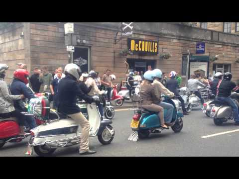 Glasgow Mod Weekender 2014 Rideout
