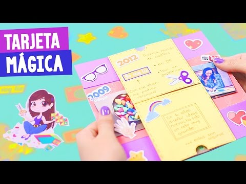 TARJETA MÁGICA DE CUMPLEAÑOS + MI...