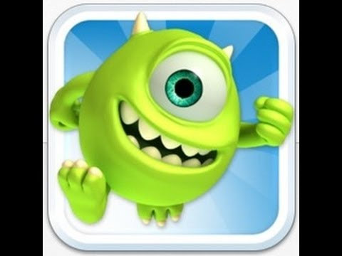Monsters Inc Run iPhone App Review and Gameplay