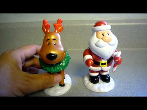 Santa and Reindeer Pooping Toys - The musical