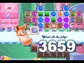 Candy Crush Saga Level 3659 (3 stars, No boosters)
